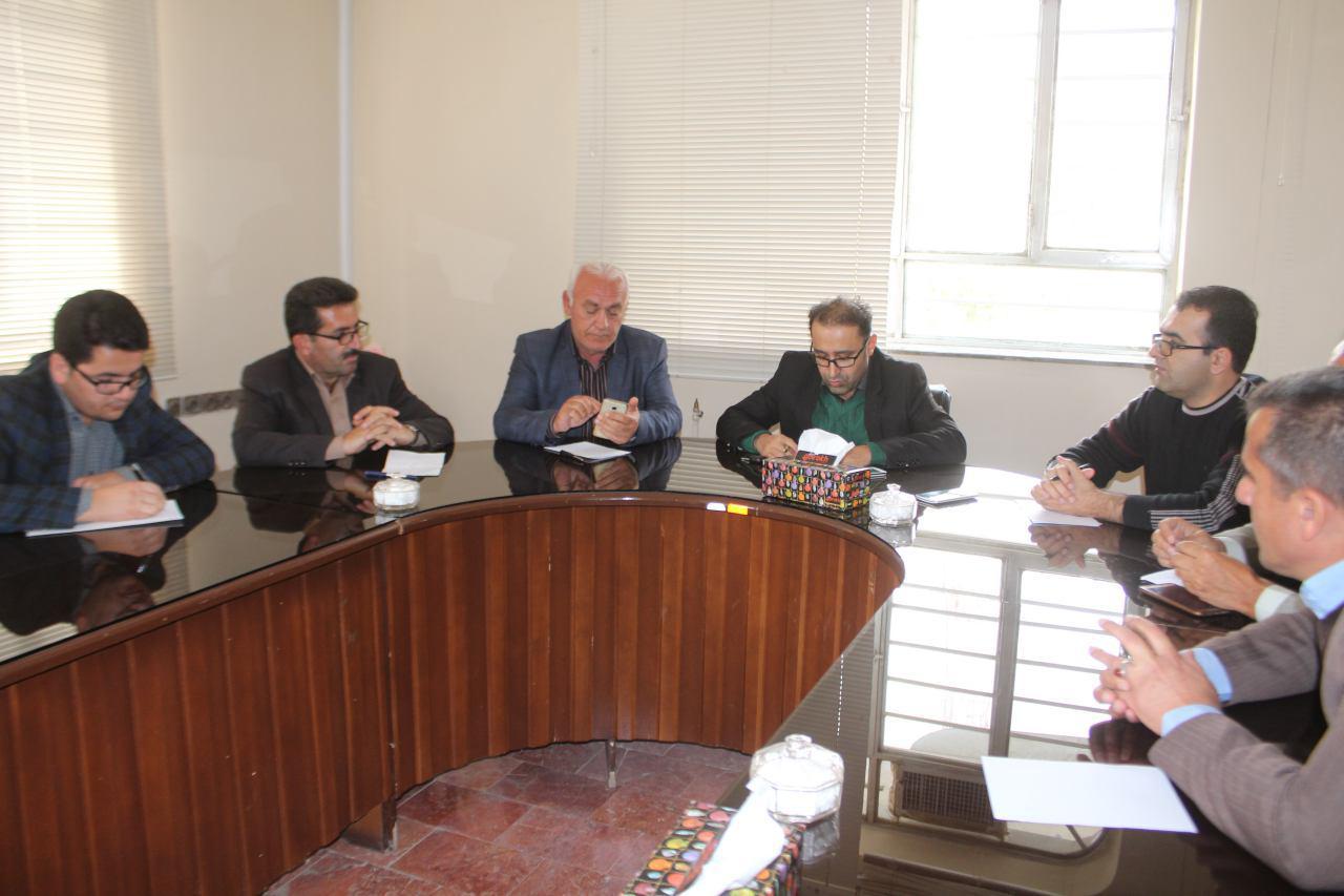 اولین جلسه ستاد مدیریت بحران شهرداری پیرانشهردرسال 95 برگزار شد